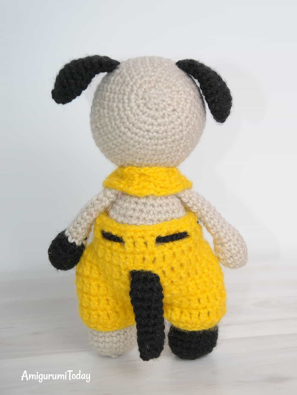 Tommy the Dog - free amigurumi pattern