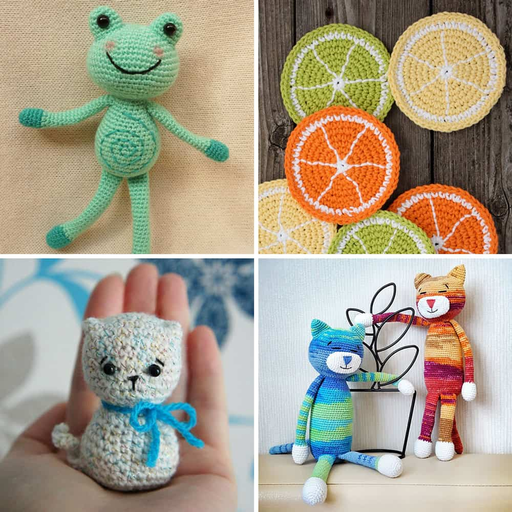 Amigurumi crochet patterns for beginners