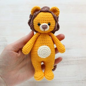 Amigurumi Cuddle Me Lion - Free crochet pattern