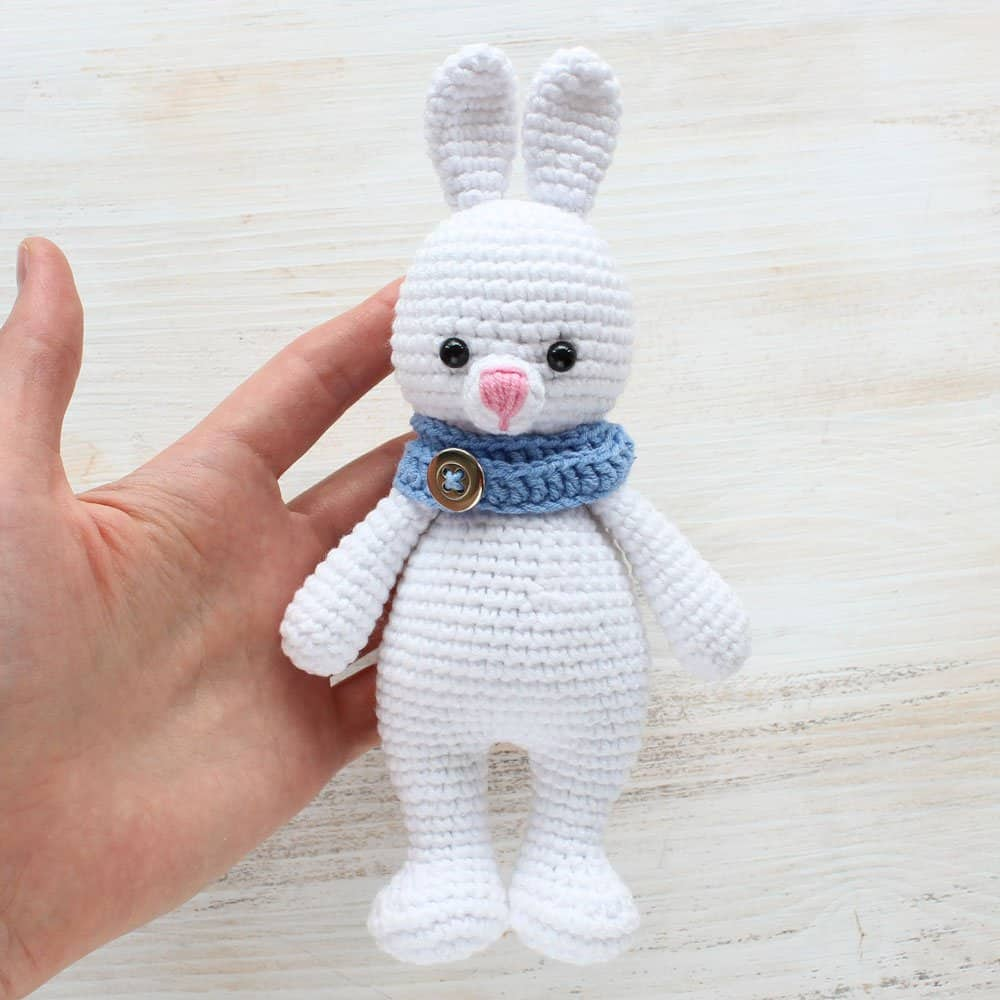Funny bunny | free amigurumi and crochet patterns | lilleliis | 1000x1000