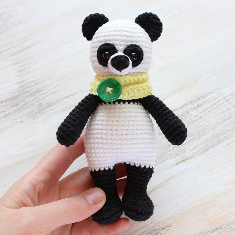 Amigurumi Today Bear : Cuddle Me Panda amigurumi pattern - Amigurumi Today