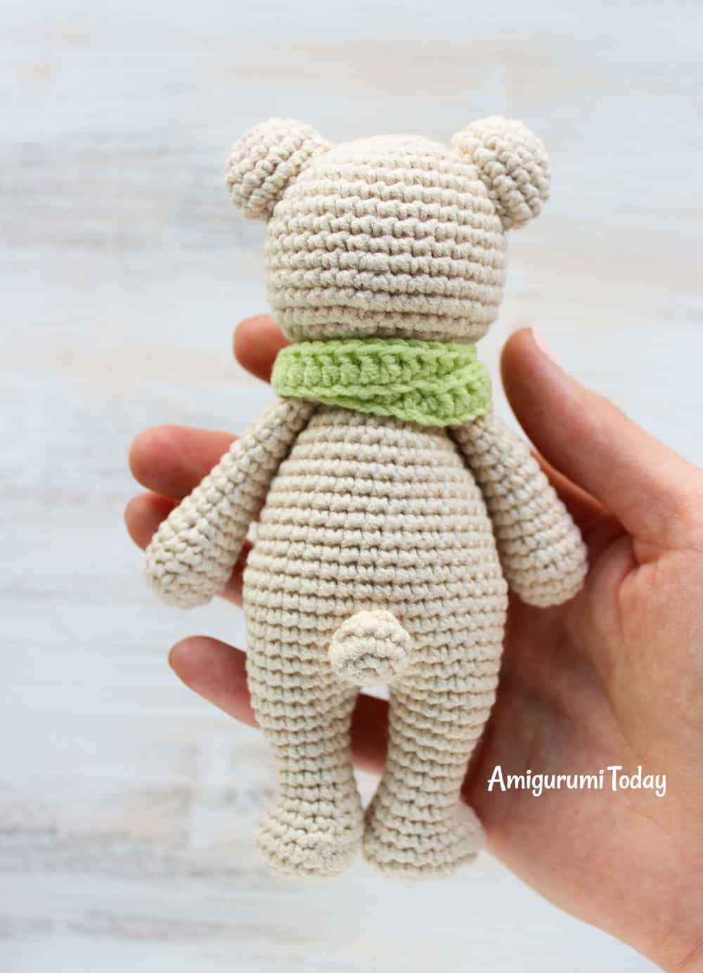 Free Crochet Bear Patterns – Amigurumi Patterns | Crochet teddy ... | 1384x1000