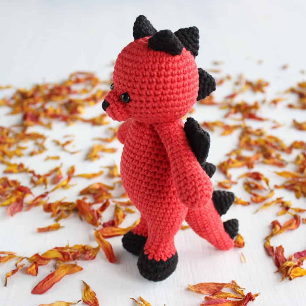 Crochet Cuddle Me Dragon - Free amigurumi pattern