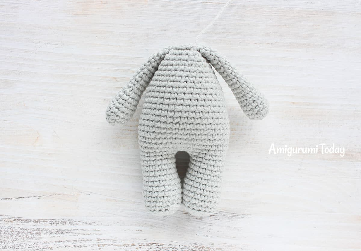 Cuddle Me Elephant Crochet Pattern - assembly