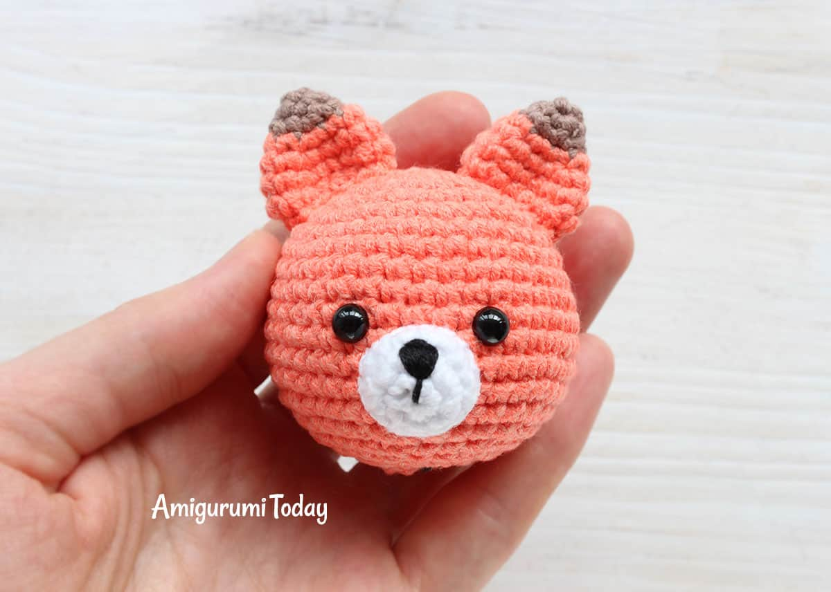 Cuddle Me Fox Amigurumi Pattern - assembly