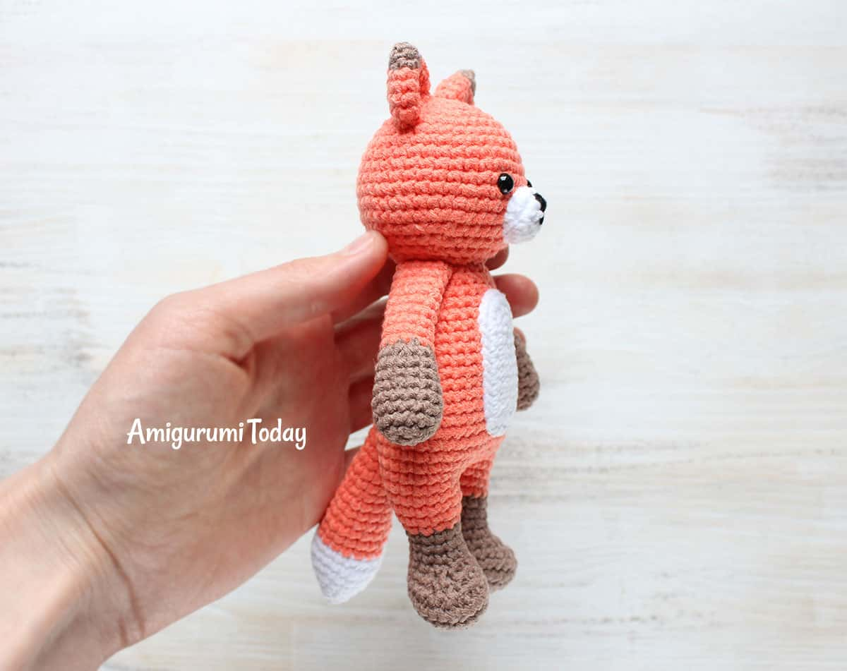 Cuddle Me Fox Crochet Pattern