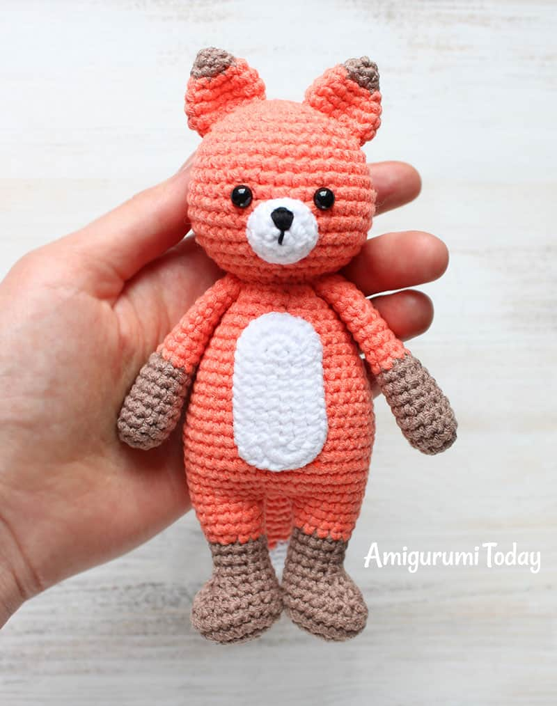 Cuddle Me Fox - Free Amigurumi Pattern
