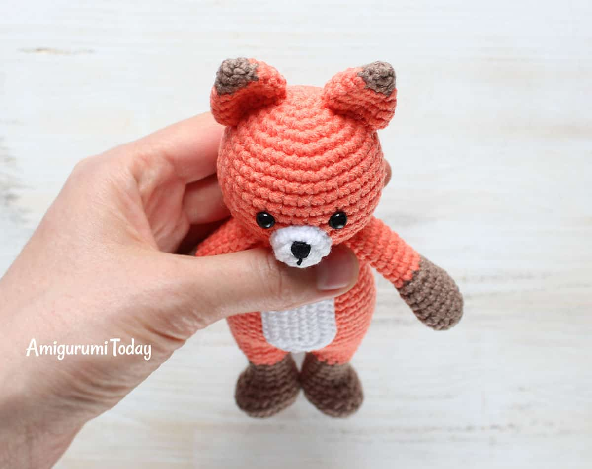 Cuddle Me Fox - Free Crochet Pattern