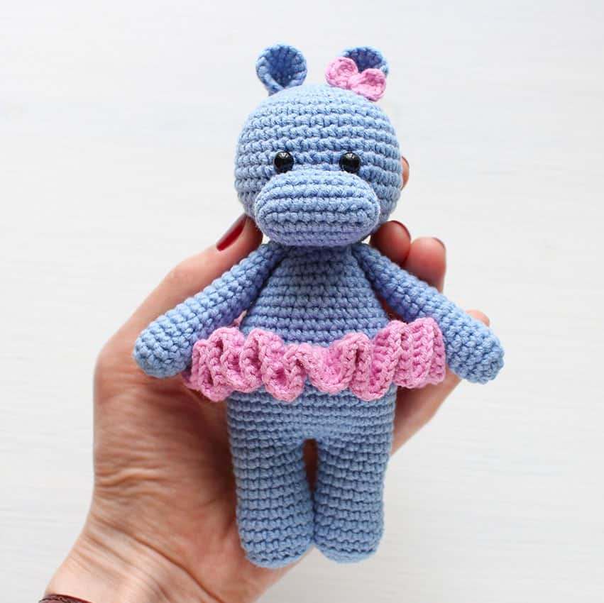 Cuddle Me Hippo Amigurumi Pattern Amigurumi Today Adorable Amigurumi Free Pattern