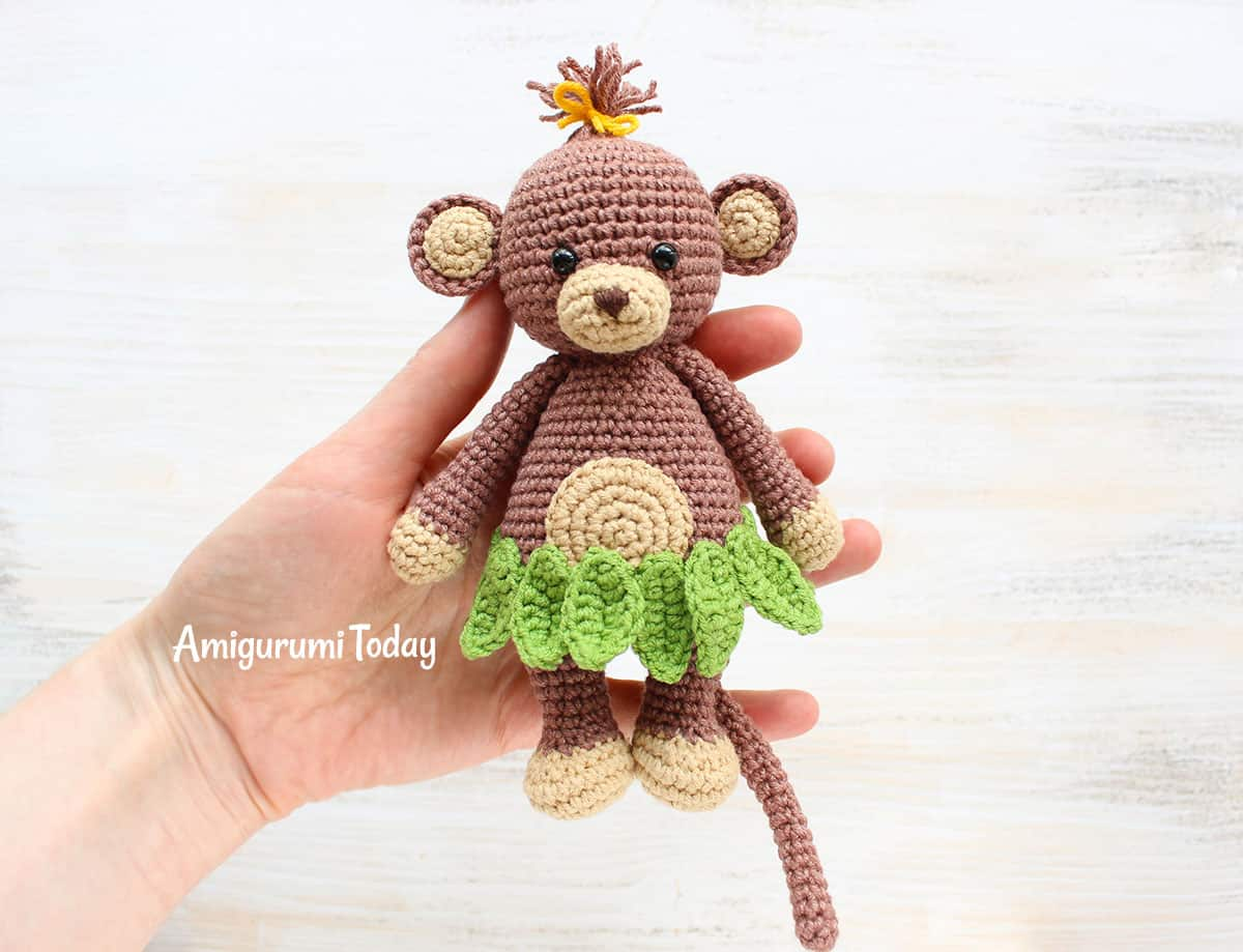 Cuddle Me Monkey Amigurumi Pattern