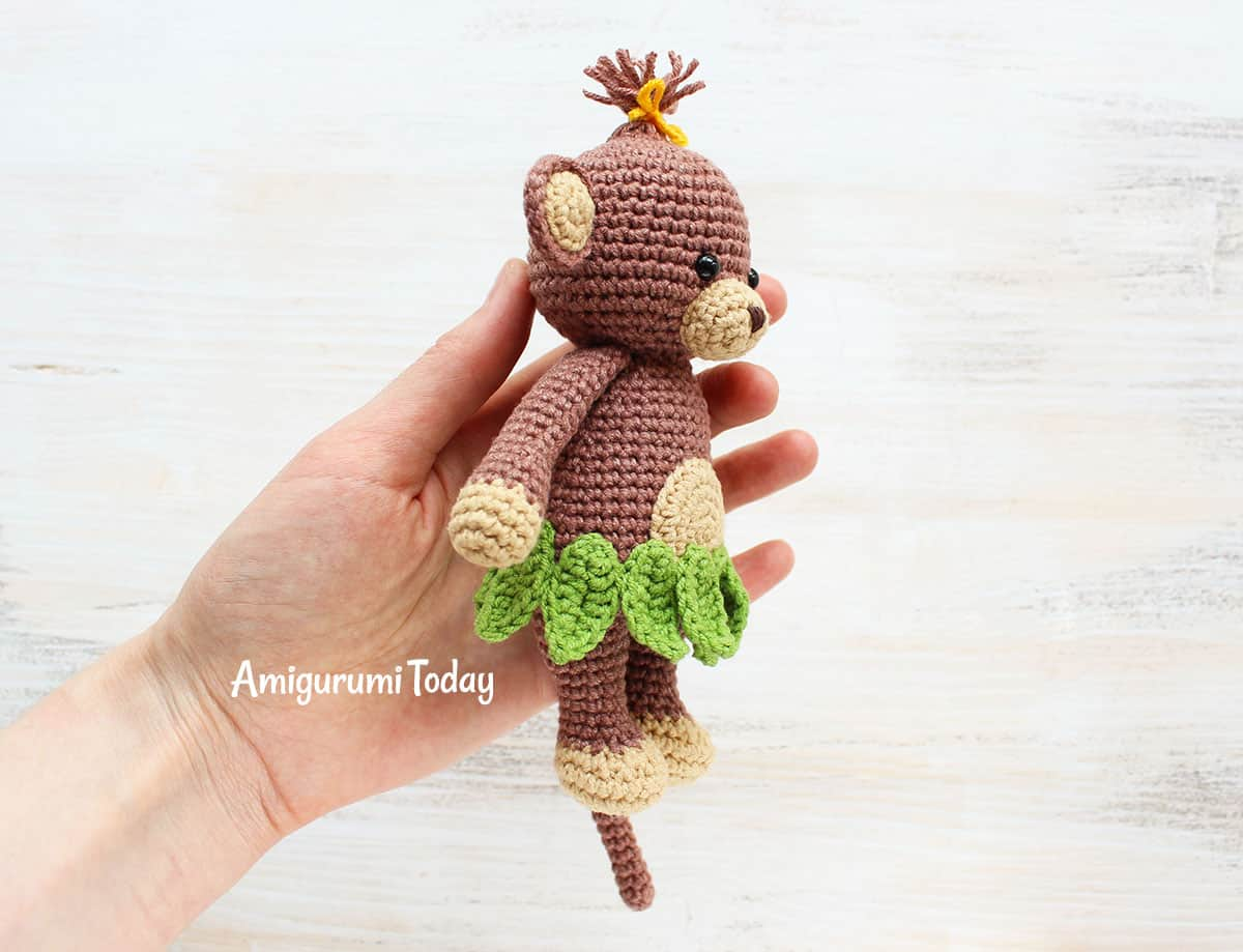 Cuddle Me Monkey Crochet Pattern