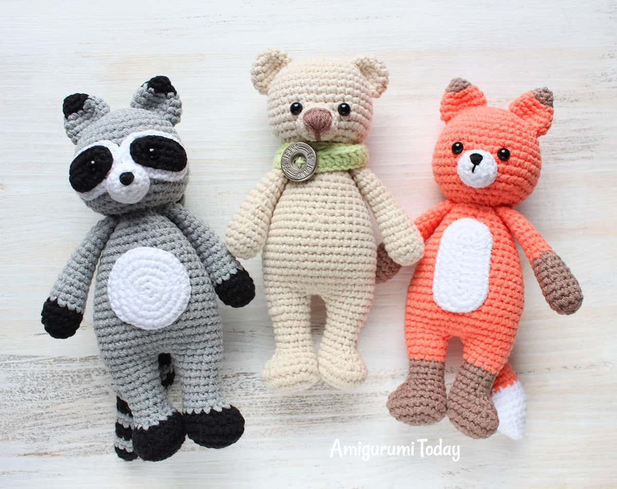 Cuddle Me Fox amigurumi pattern - Amigurumi Today