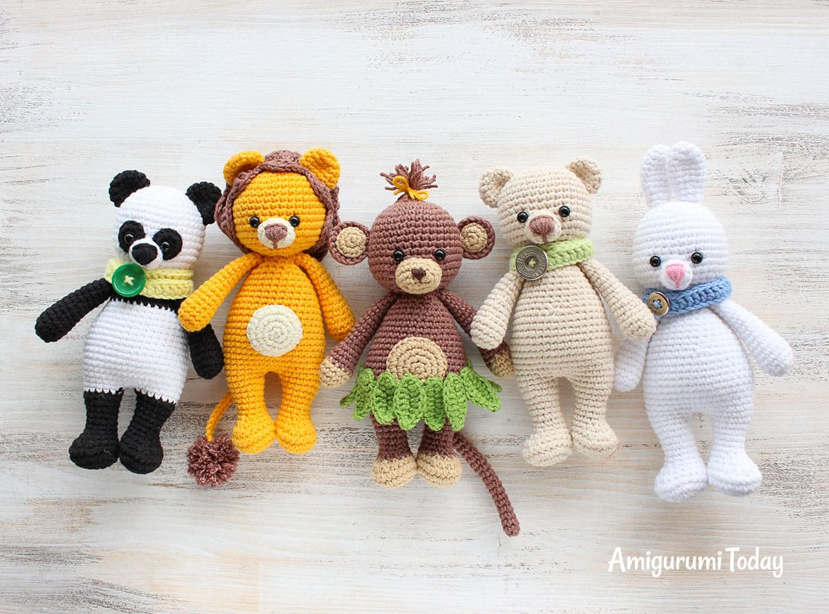 Cuddle Me Monkey amigurumi pattern - Amigurumi Today