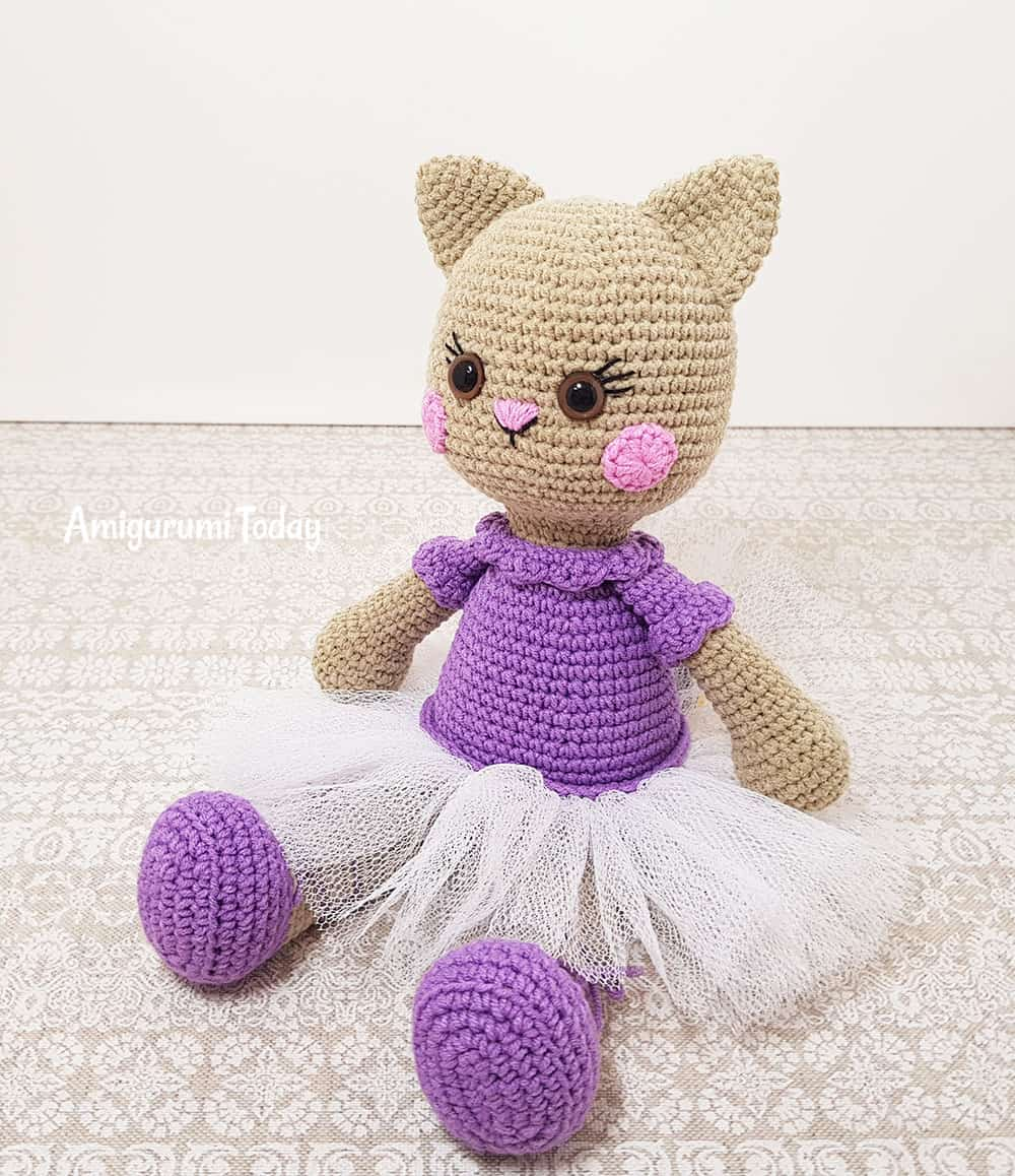 Ballerina cat doll crochet pattern amigurumi today ballerina cat doll amigurumi free crochet pattern by amigurumi today dt1010fo