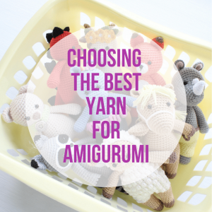 Choosing the best yarn for amigurumi