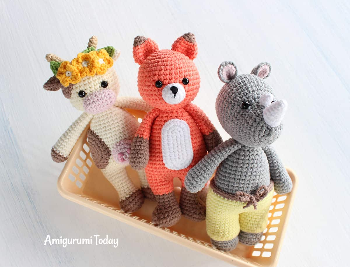 Cuddle Me Toy Collection - Free amigurumi patterns