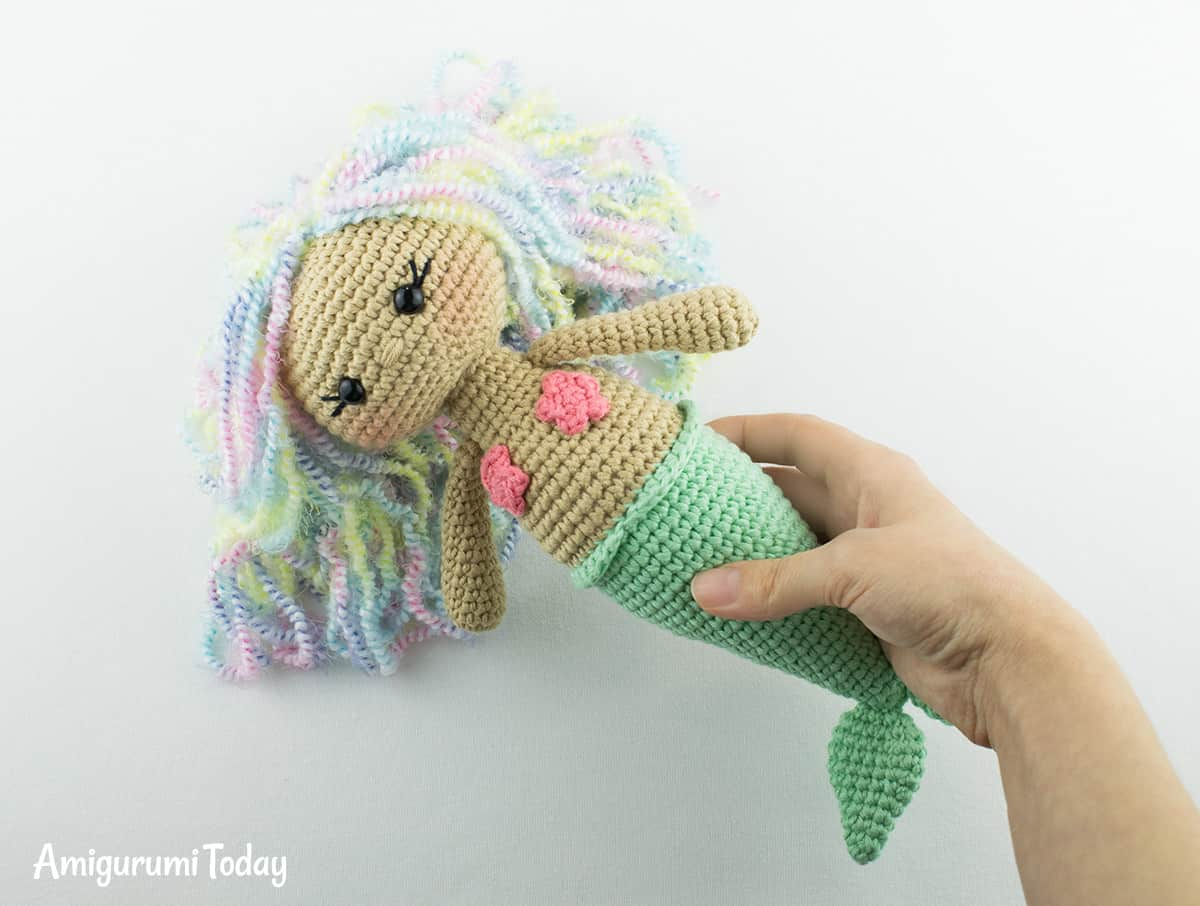 Amigurumi Aurora Mermaid - Free crochet pattern
