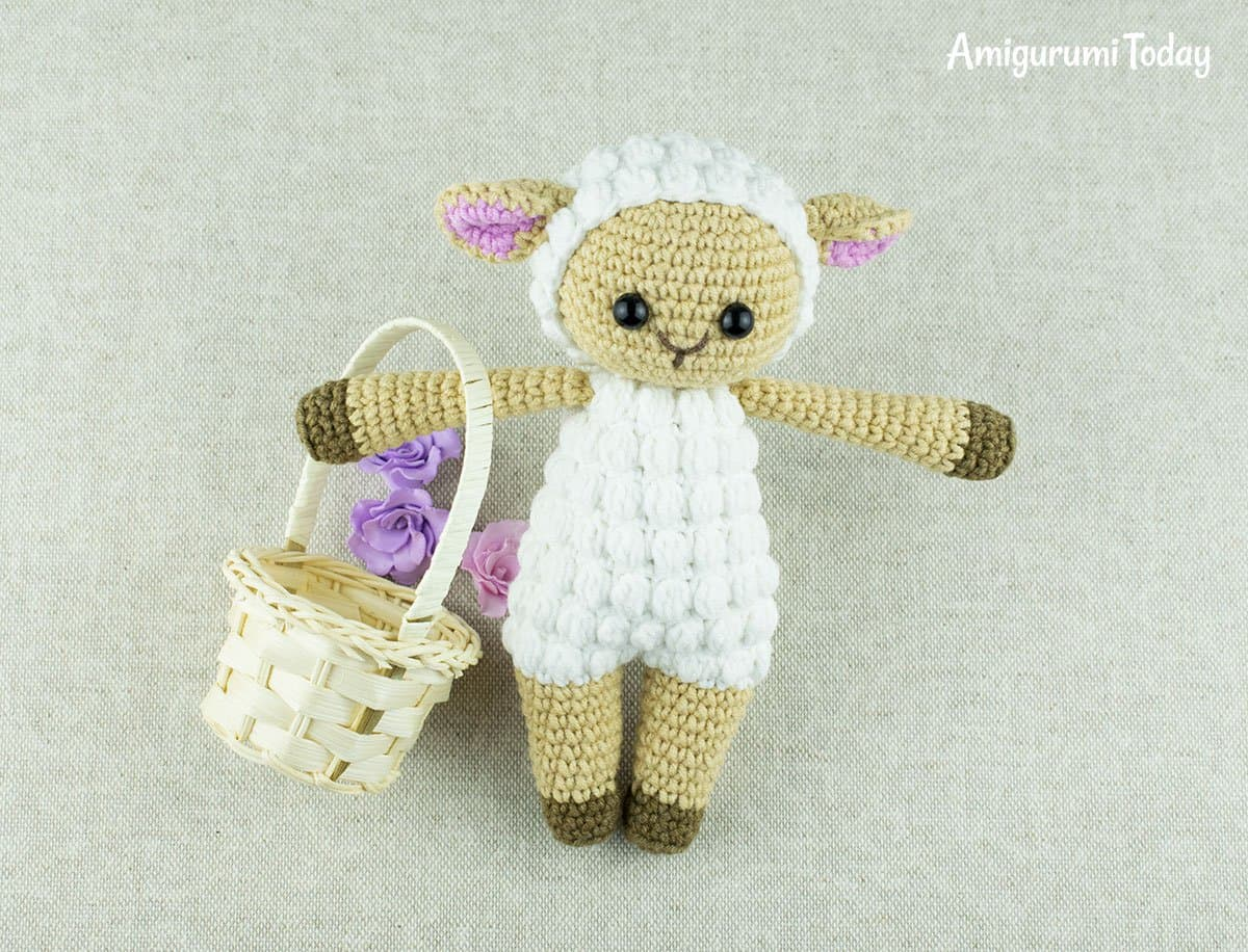 Amigurumi Cuddle Me Sheep