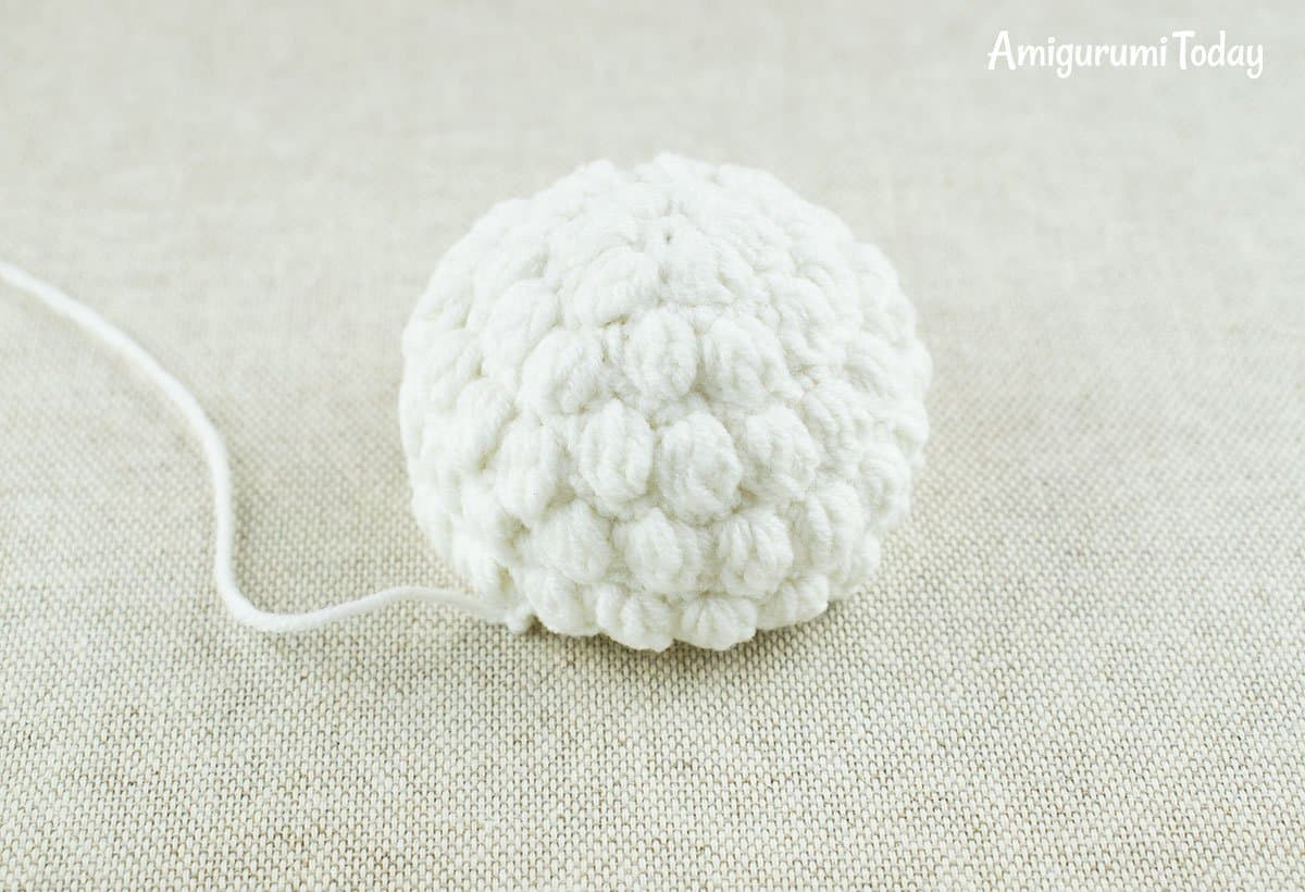 Cuddle Me Sheep amigurumi pattern - wool cap