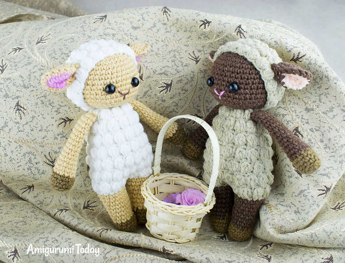 Cuddle Me Sheep amigurumi pattern