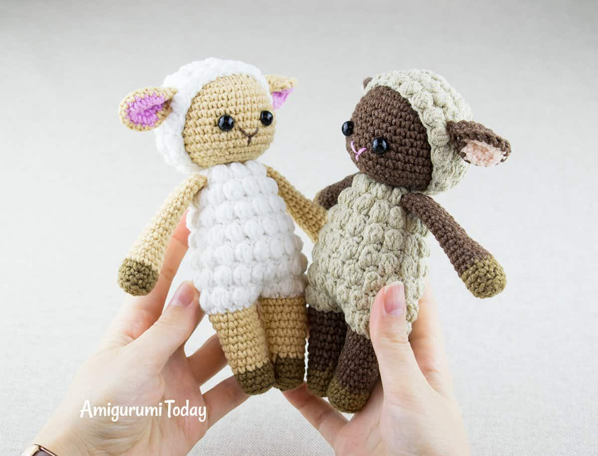 Cuddle Me Sheep pattern by Amigurumi Today