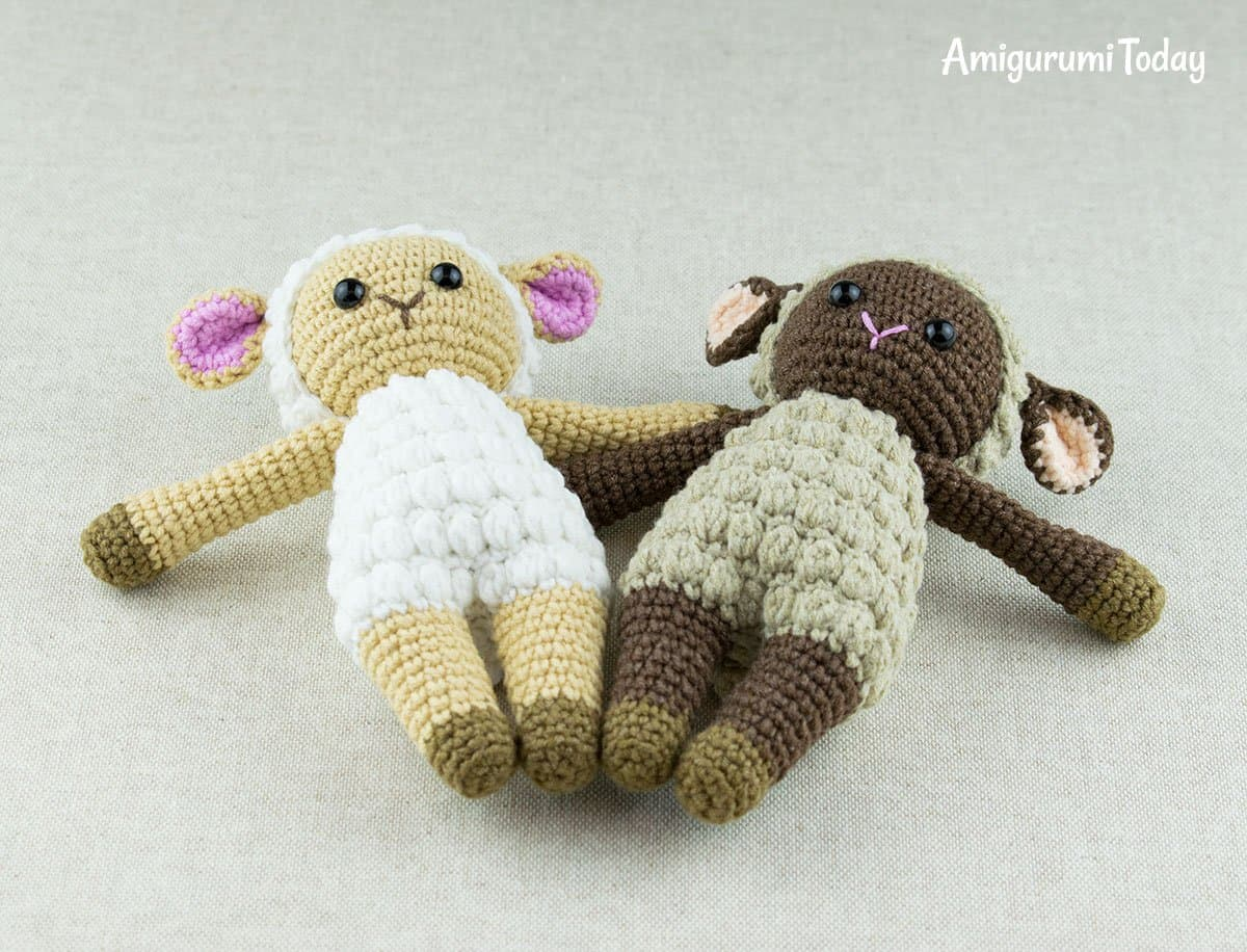 Free Cuddle Me Sheep amigurumi pattern by Amigurumi Today
