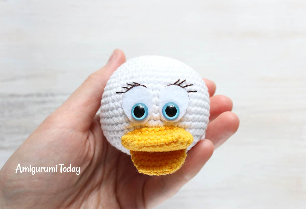 Amigurumi Duck Free Crochet Pattern : Easter monkey basket crochet amigurumi pattern