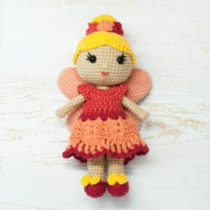 Amigurumi Fairy Doll - Free crochet pattern by Amigurumi Today