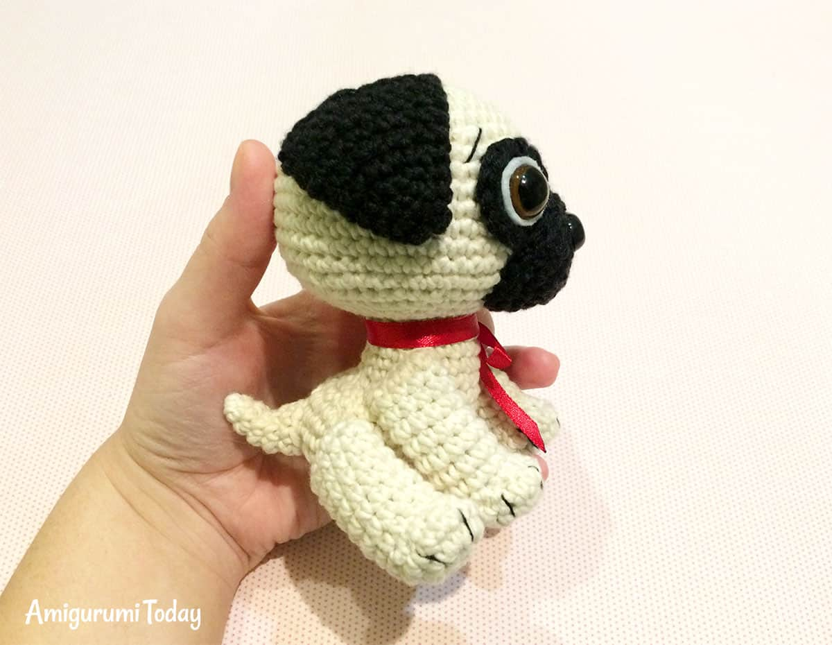 Baby Pug Dog amigurumi pattern - Amigurumi Today