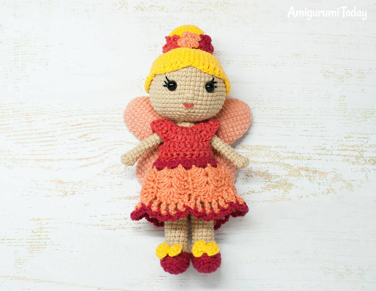 Amigurumi Doll Arms : Fairy doll crochet pattern amigurumi today
