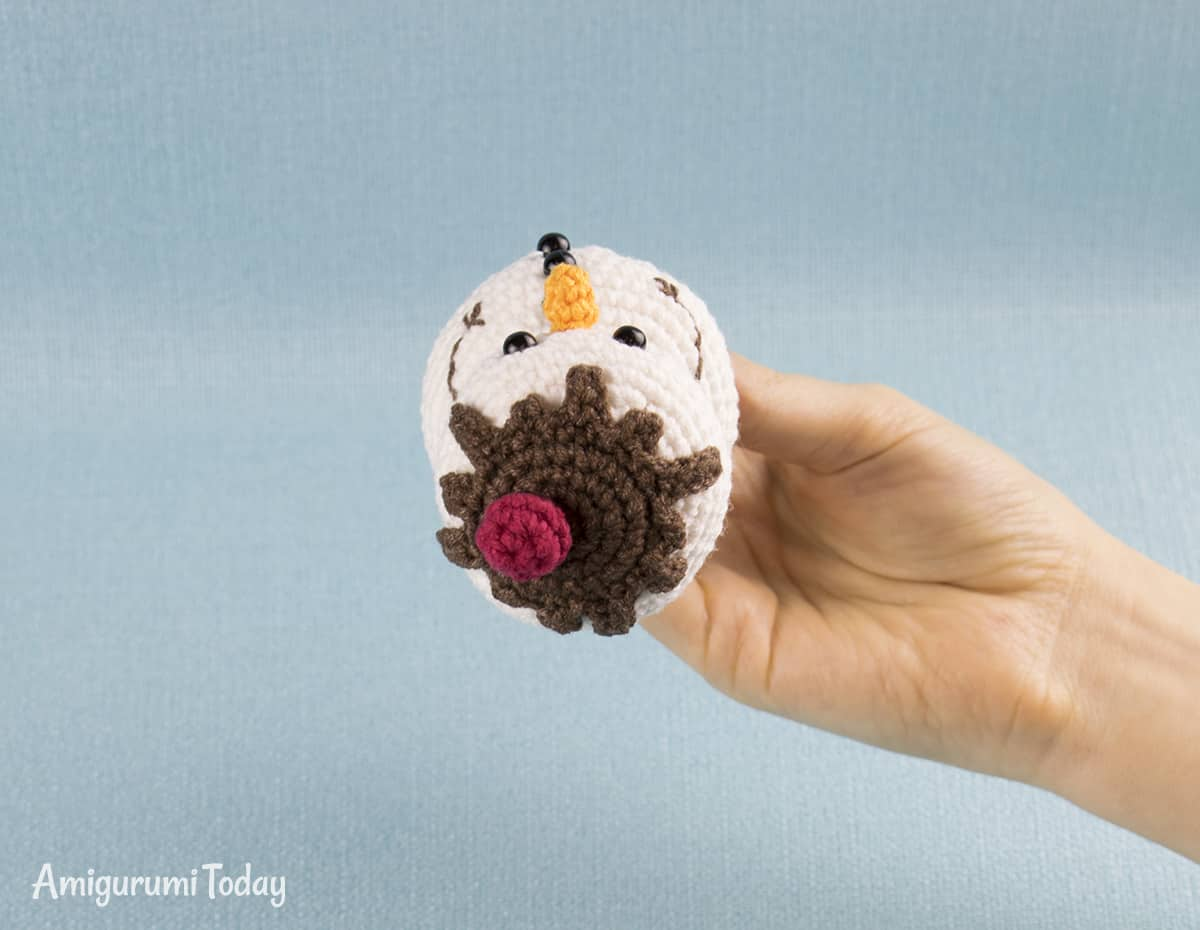 Amigurumi Ice Cream Snowman crochet pattern by Amigurumi Today
