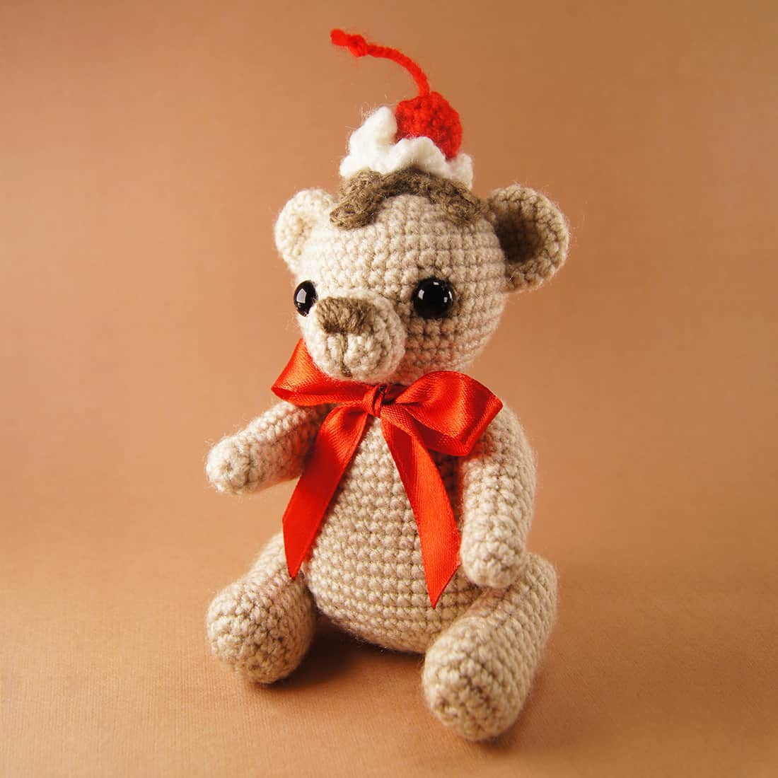 Free Crochet Cake Bear pattern by Amigurumi Today