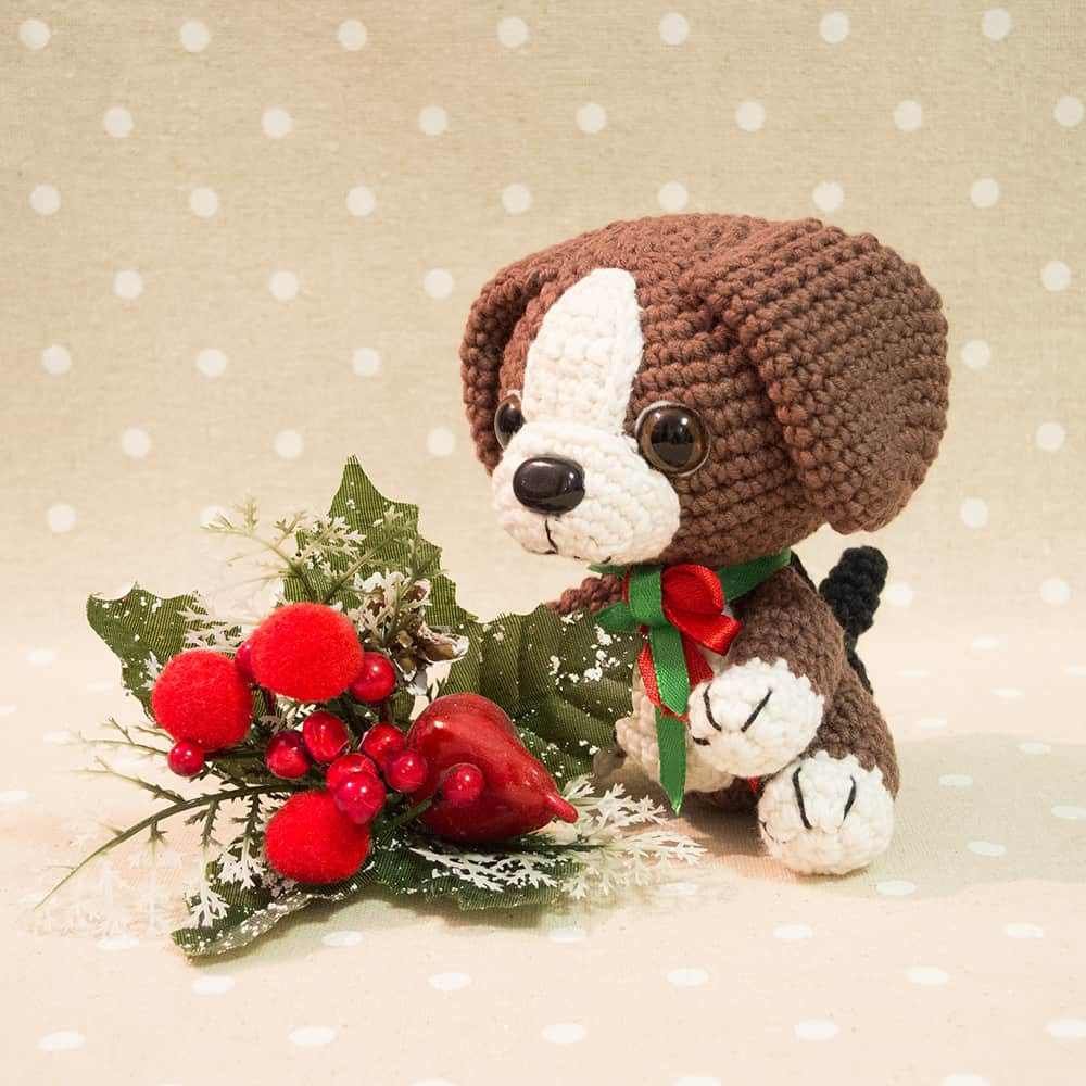 Amigurumi Beagle puppy - Free crochet pattern by Amigurumi Today