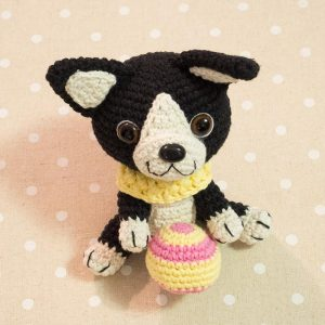 Amigurumi Boston Terrier Puppy - Free crochet pattern