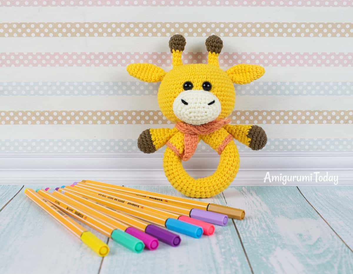 Donkey Rattle - Crochet Pattern | 930x1200