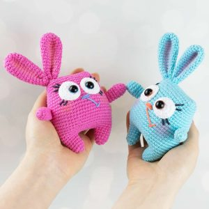 Crochet Easter Bunnies - Free amigurumi patterns by Amigurumi Today
