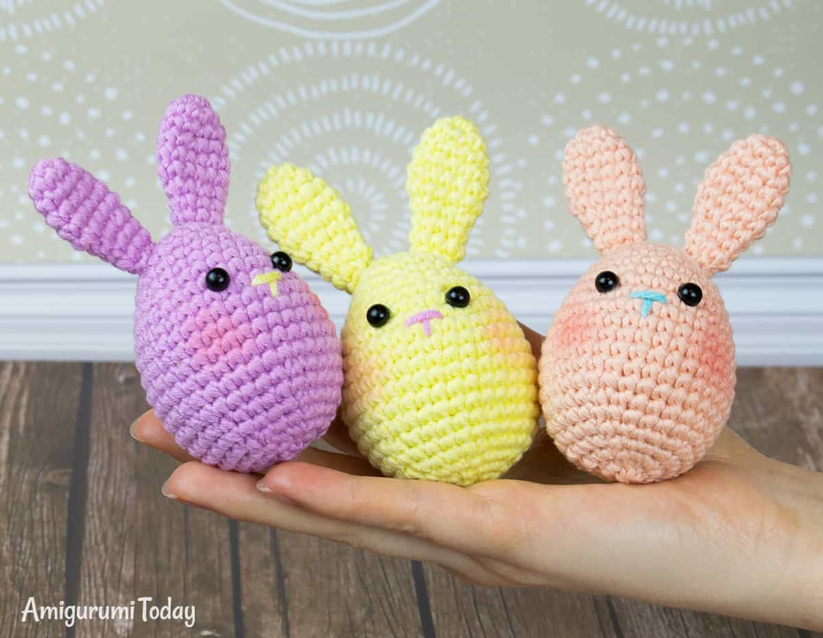 Long Eared Bunny Amigurumi – Crochet Pattern & Tutorial | Crochet ... | 930x1200
