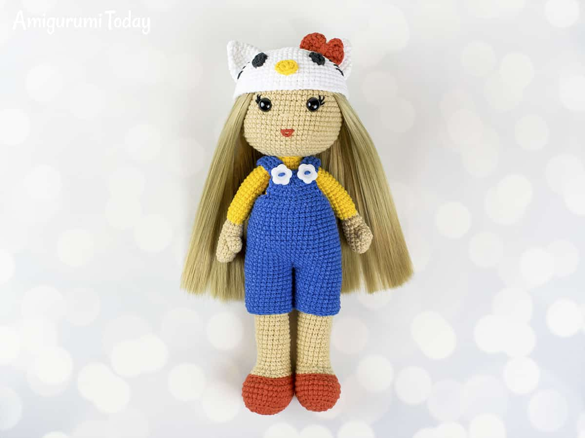 Crochet Doll In Hello Kitty Costume Amigurumi Today