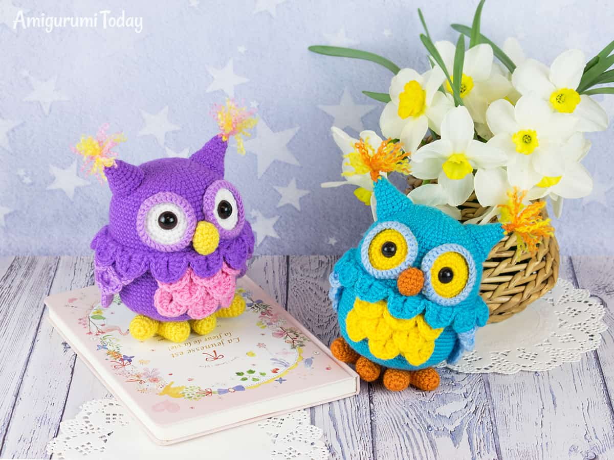 Adorable crochet owl - Free amigurumi pattern by Amigurumi Today