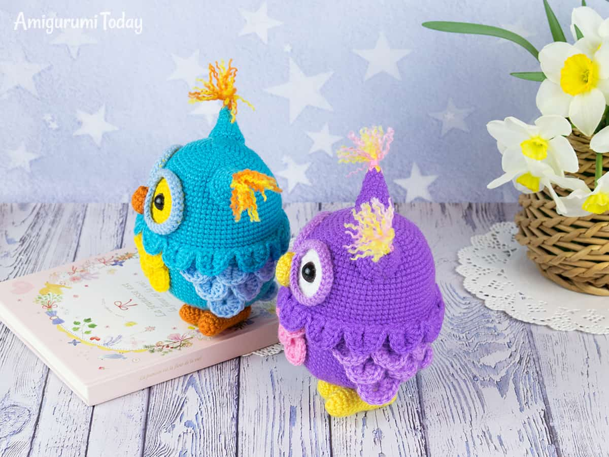 Adorable crochet owl - Free pattern by Amigurumi Today