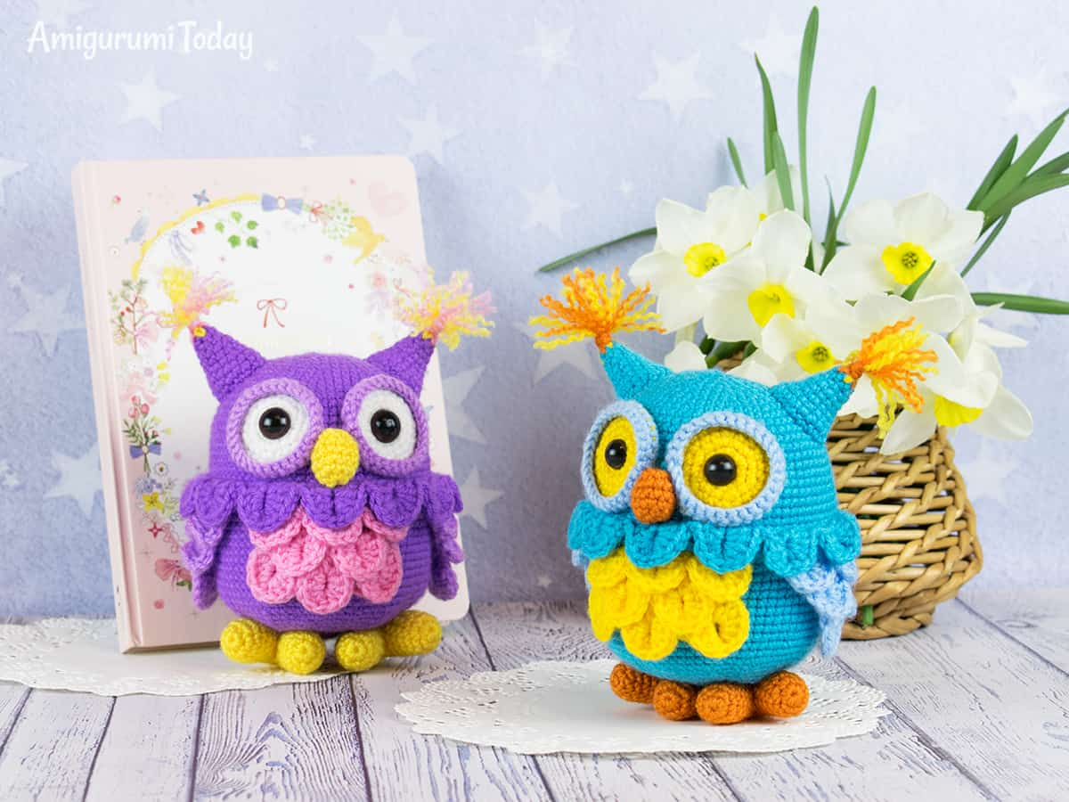 Amigurumi owl - Free crochet pattern by Amigurumi Today