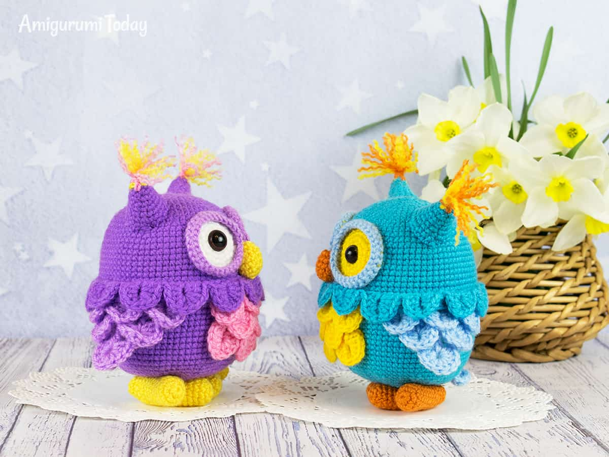 Amigurumi owl - Free pattern by Amigurumi Today