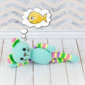 Amigurumi stripy cat - Free crochet pattern by Amigurumi Today