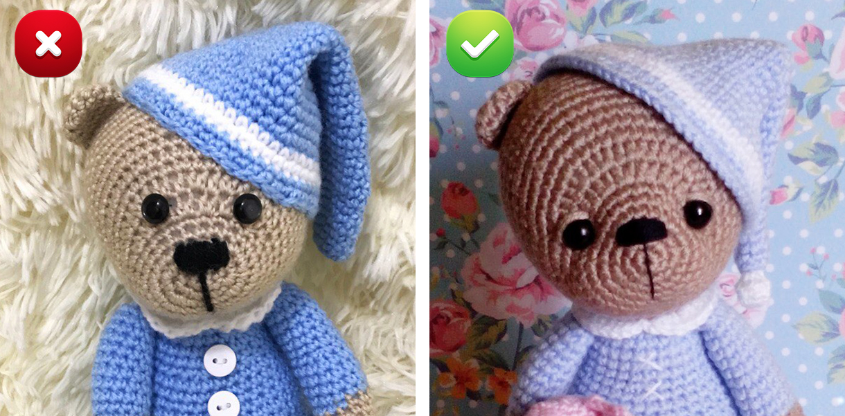 Crochet Tips - How To Avoid Gaps When Making Amigurumi