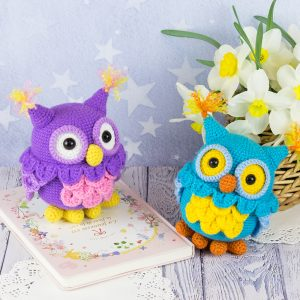 Crochet owls - Free amigurumi pattern by Amigurumi Today