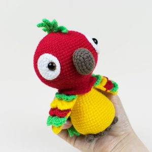 Pedro the Parrot Amigurumi - Free crochet pattern by Amigurumi Today