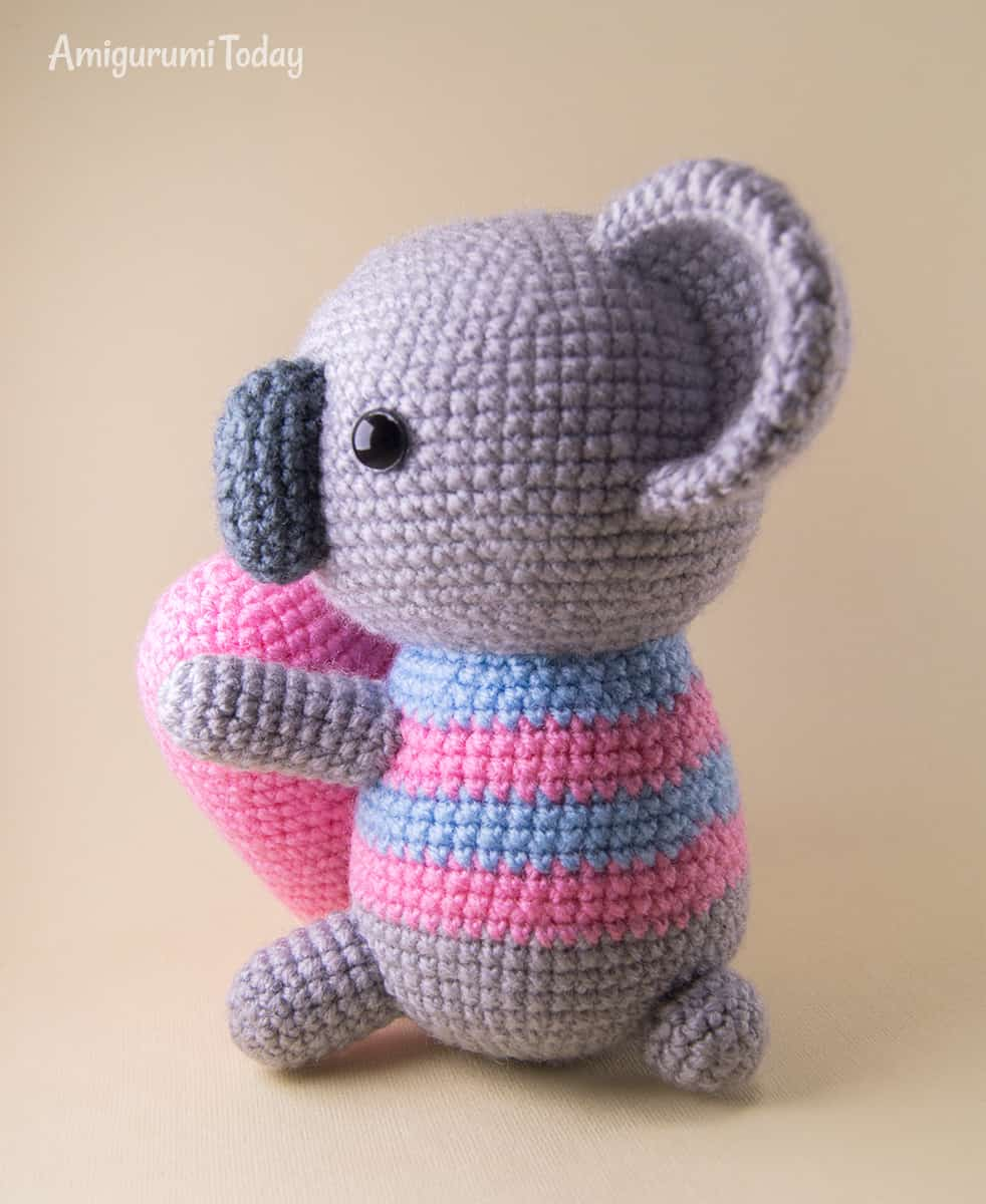 Amigurumi koala - Free crochet pattern by Amigurumi Today