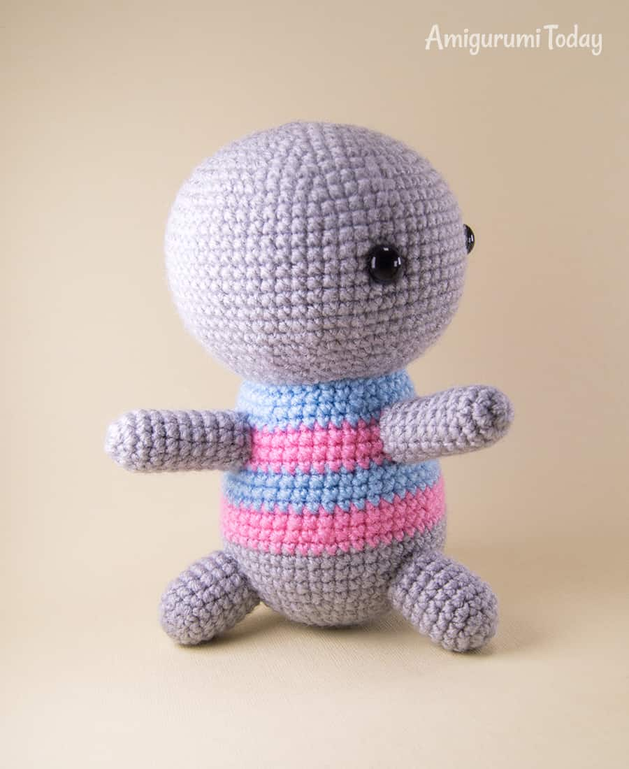 Amigurumi koala crochet pattern - Assembly