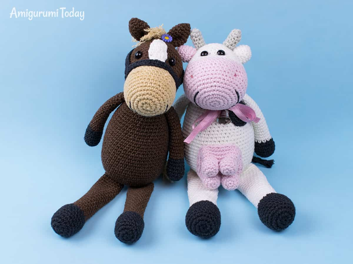 Farm Horse - Free crochet pattern by Amigurumi Today