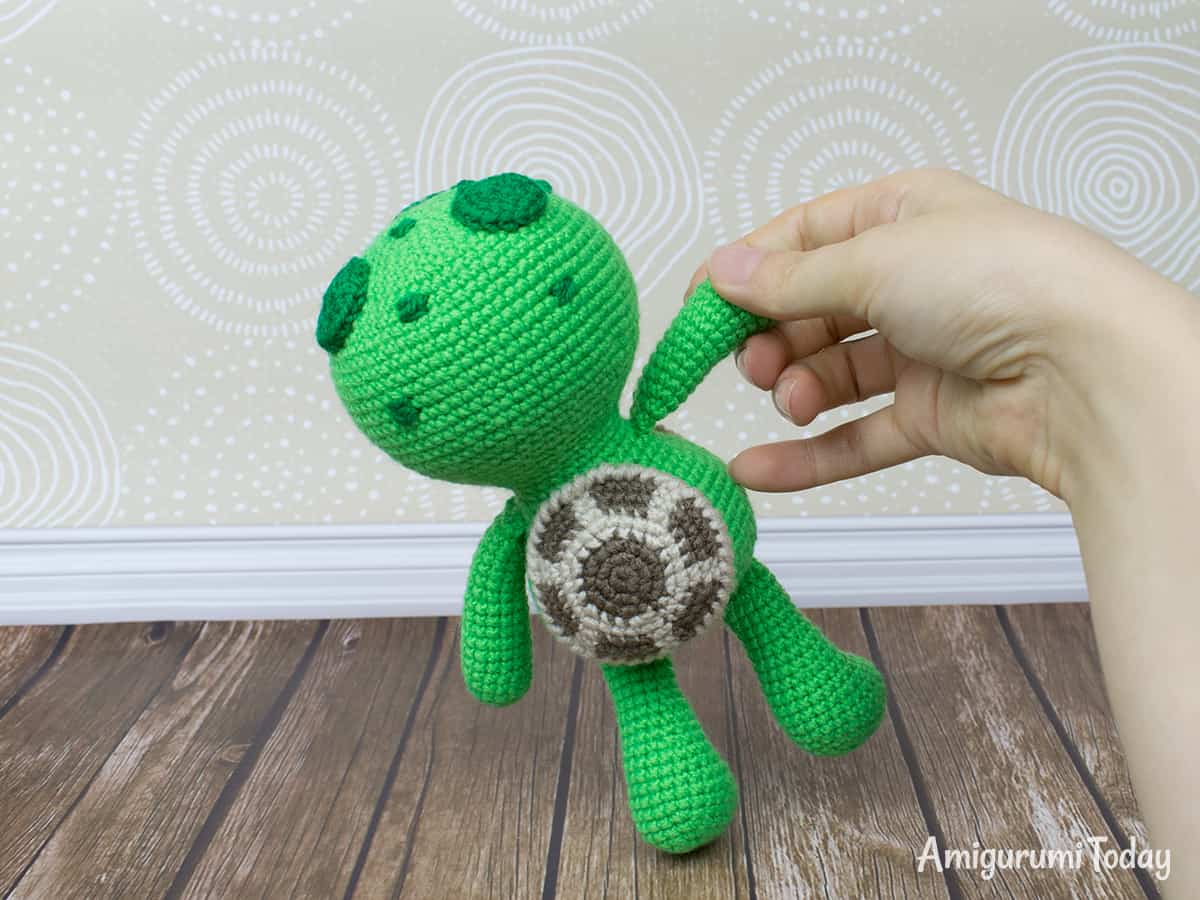 Amigurumi Dreamy Turtle crochet pattern